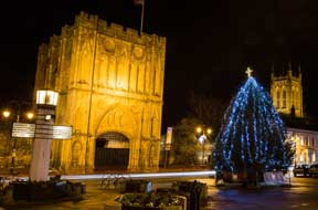 Christmas Lights Switch On. Browse stalls, eat seasonal delights and watch in awe as the whole of the town lights up!