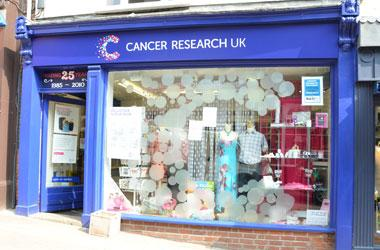 Our Bury St Edmunds, Cancer Research UK, Bury St Edmunds.