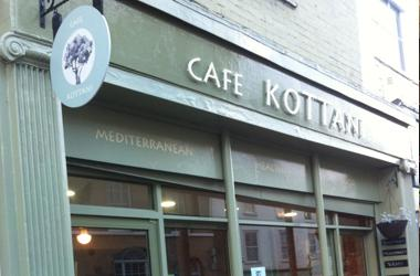 Our Bury St Edmunds, Cafe Kottani, Bury St Edmunds.