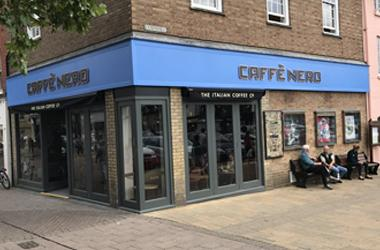 Our Bury St Edmunds, Caffe Nero, Bury St Edmunds.