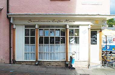 Our Bury St Edmunds, Scandinavia Coffee House, Bury St Edmunds.