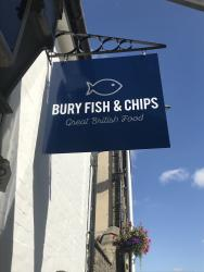 Our Bury St Edmunds, Bury Fish & Chips, Bury St Edmunds.