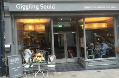 Our Bury St Edmunds, Giggling Squid, Bury St Edmunds.
