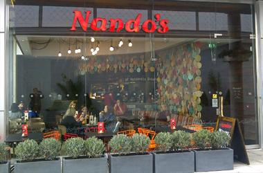 Our Bury St Edmunds, Nandos, Bury St Edmunds.
