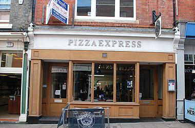 Our Bury St Edmunds, Pizza Express, Bury St Edmunds.