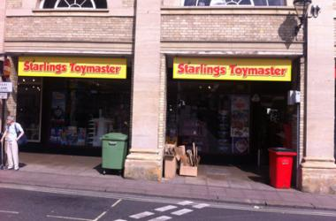 Our Bury St Edmunds, Starlings Toymaster, Bury St Edmunds.