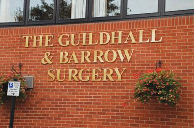 Our Bury St Edmunds, Guildhall & Barrow Surgery, Bury St Edmunds.