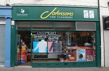 Our Bury St Edmunds, Johnson Cleaners, Bury St Edmunds.