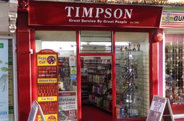 Our Bury St Edmunds, Timpson, Bury St Edmunds.
