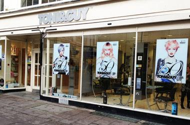 Our Bury St Edmunds, Toni and Guy, Bury St Edmunds.