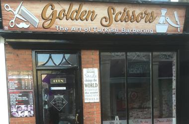 Our Bury St Edmunds, Golden Scissors, Bury St Edmunds.