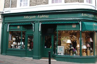 Our Bury St Edmunds, Abbeygate Lighting, Bury St Edmunds.
