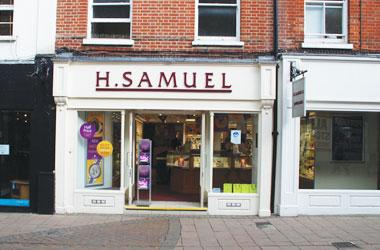 Our Bury St Edmunds, H.Samuel , Bury St Edmunds.