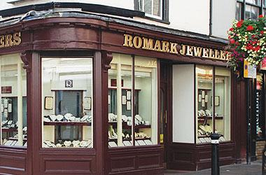 Our Bury St Edmunds, Romark Jewellers, Bury St Edmunds.