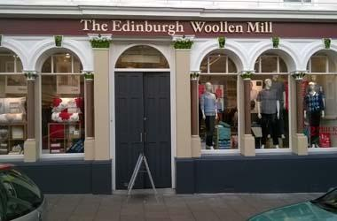 Our Bury St Edmunds, Edinburgh Woollen Mill, Bury St Edmunds.