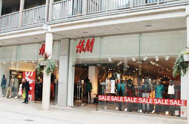 Our Bury St Edmunds, H&M, Bury St Edmunds.