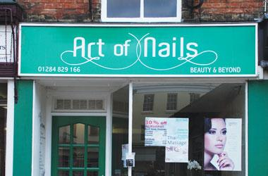 Our Bury St Edmunds, Art of Nails, Bury St Edmunds.