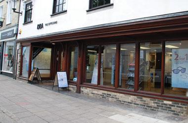 Our Bury St Edmunds, Boots Opticians, Bury St Edmunds.