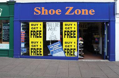 Our Bury St Edmunds, Shoe Zone, Bury St Edmunds.
