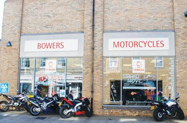 Our Bury St Edmunds, Bowers Motorcycles, Bury St Edmunds.
