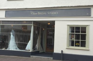 Our Bury St Edmunds, Clare Bridal Studio, Bury St Edmunds.